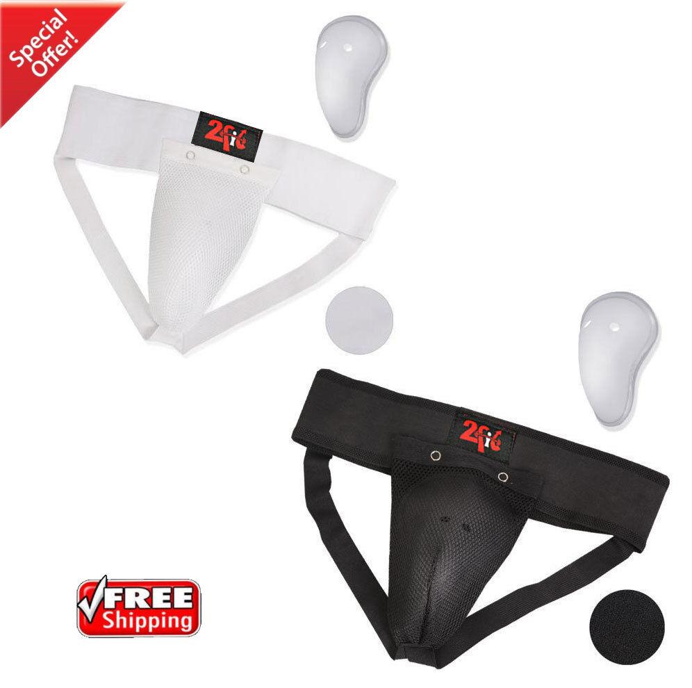 2Fit Protège-aine Protective MMA sécurité Arts Coupe Arts sécurité Martiaux Kick Boxing Short efc108