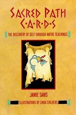 Sacred Path Cards : The Discovery of Self Through Native Teachings by Jamie Sams (1990, Hardcover)