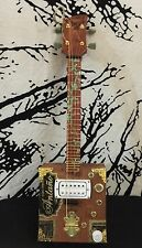 Cigar Box Guitar Ukalele- Bydand Instruments (Antaño) 4-String W/ Humbucker