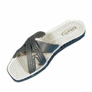 Ciabatte-sensi-unisex-mod-MESSICO-art-5151-A-col-acciaio-grigio-Made-in-italy