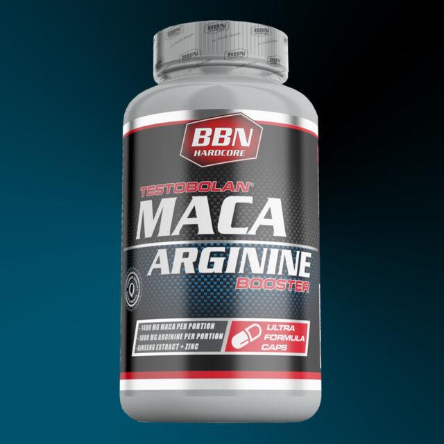 15,92€/100g) Best Body Nutrition Testobolan Booster mit Maca, Arginin und Zink