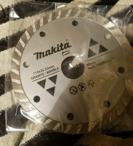 "MAKITA D-44301 4 1//2/"" TURBO RIM GRANITE MARBLE DIAMOND BLADE"