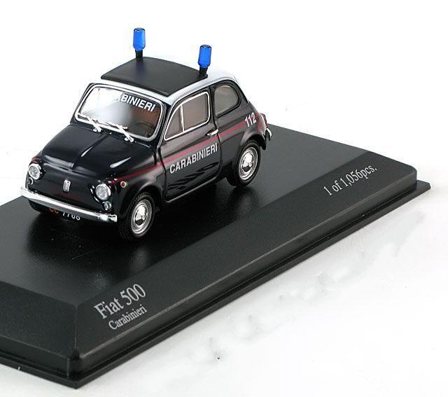 Fiat 500 Carabinieri Bj. Polizei 1965 Minichamps [400 121690]