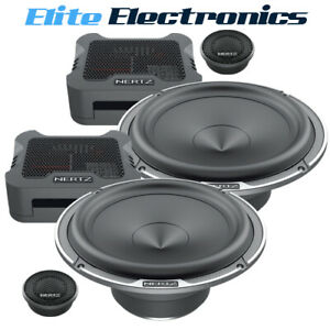 "Hertz MPK165.3 Mille Pro Series 6.5"" 2-Way 220W Component Speaker"
