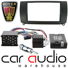 Rover 75 Double Din Car Stereo Fascia Panel & Alpine Steering Wheel Interface