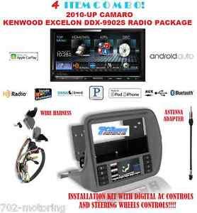 kenwood excelon ddx9902s mirrorlink apple carplay android auto gm5201ab camaro ebay. Black Bedroom Furniture Sets. Home Design Ideas