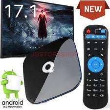 2017 QBox Android 6.0 TV Box 4K HD Media Player KODI 17 2GB+16GB 2.4/5Ghz WIFI