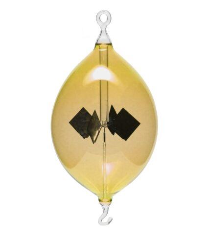 Lichtmühle Solar Radiometer Olive hängend 80mm gelb Lichtmühlen von GlasXpert