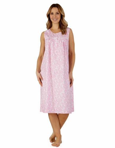 Slenderella ND3211 Woven Cotton Nightdress