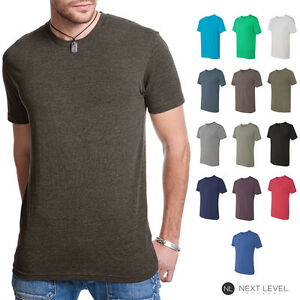 Next-Level-Premium-TriBlend-Mens-Crew-Neck-T-Shirt-Athletic-Fit-Shirt-6010