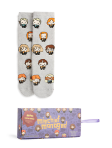 Harry Potter Cosy Winter Boxed Bed Socks Primark Christmas Xmas Stocking Filler