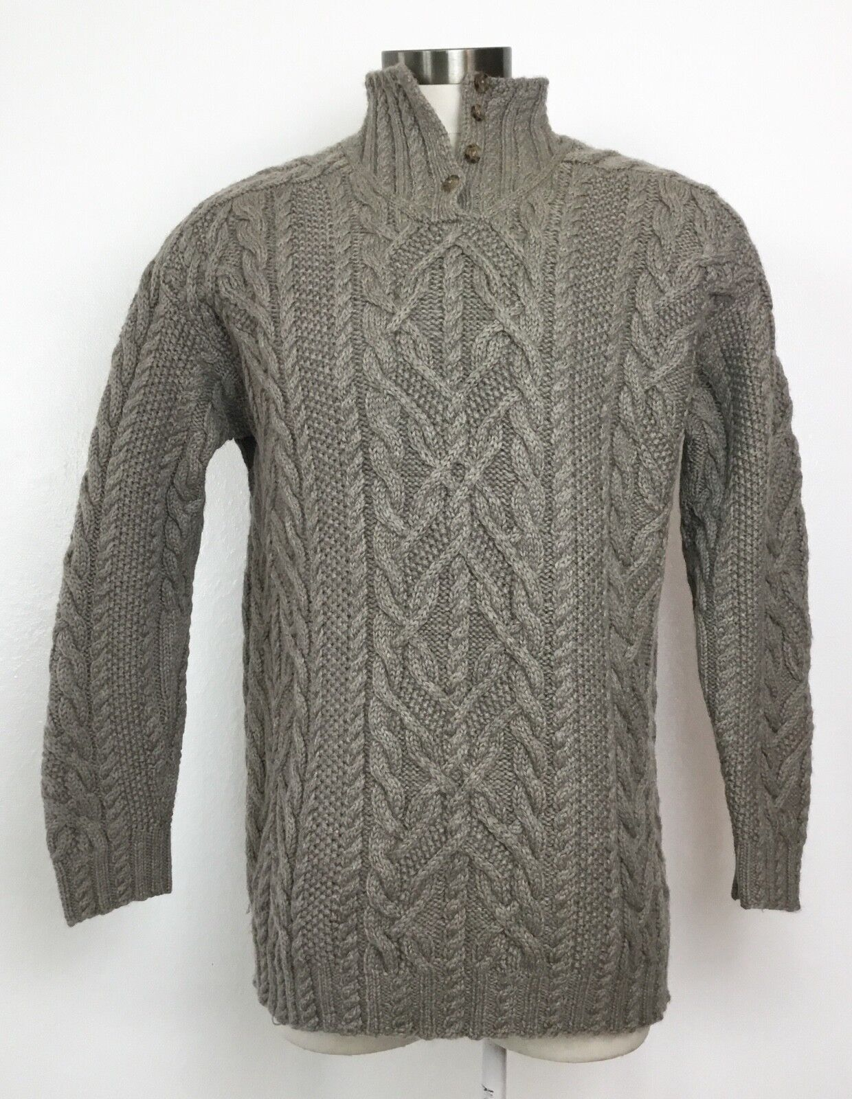 Ralph Lauren Exclusive Hand Knit Worsted Wool Sweater