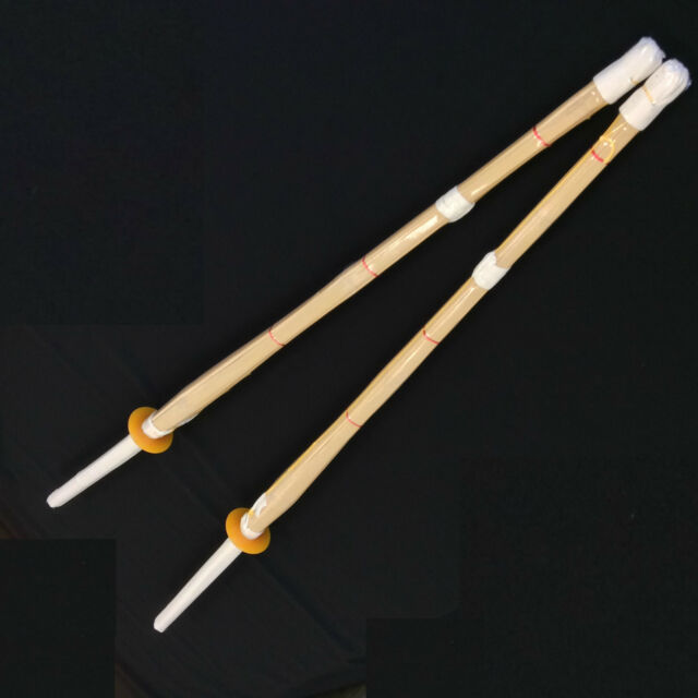 Japanese Twin Quality Bamboo Training Swords Shinai