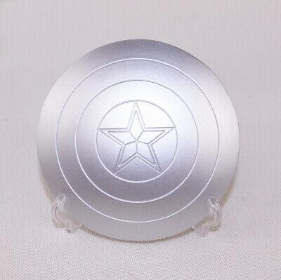1//6 The Avengers SCUDO DI CAPITAN AMERICA FIBBIA IN METALLO A MANO GIOCATTOLI Blue Hot Toys