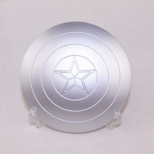 1//6 The Avengers SCUDO DI CAPITAN AMERICA Steve Rogers fibbia in metallo a mano Toys