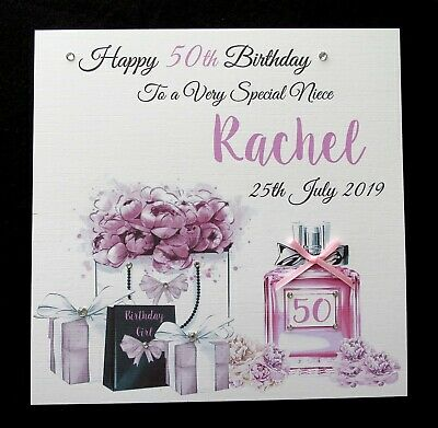 18TH BIRTHDAY 21ST GIFT SPECIAL NEICE DAUGHTER ANY NAME PERSONALISED