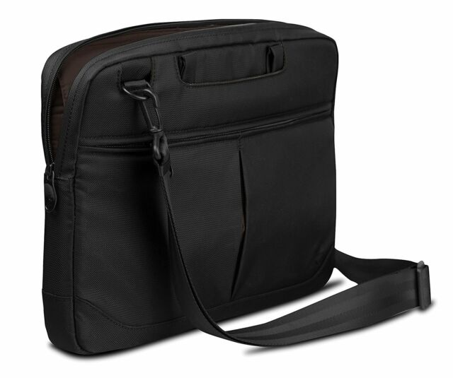 Black//Pumpkin Be.ez LeVertigo Messenger Bag 15-Inches