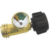 Master Forge Metal Propane Regulator Tank Parts Fitting Gas Level Indicator