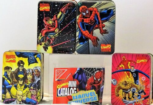 Marvel Comics Nabisco Collector/'s Tins Limited Edition Complete sets of 4