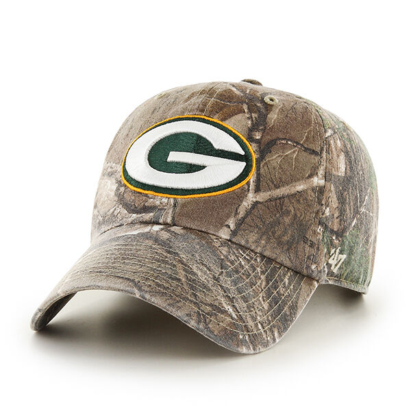 Green Bay Packers 47 BRAND Clean up Hat Adjustable Cap Realtree Big Buck  for sale online  79fc4593e
