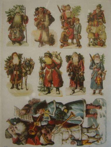 Rice Paper for Decoupage Scrapbook Craft Christmas Santa Claus 628