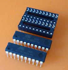 2x Atmel ATTiny861A-PU  und 2x DIL Sockel