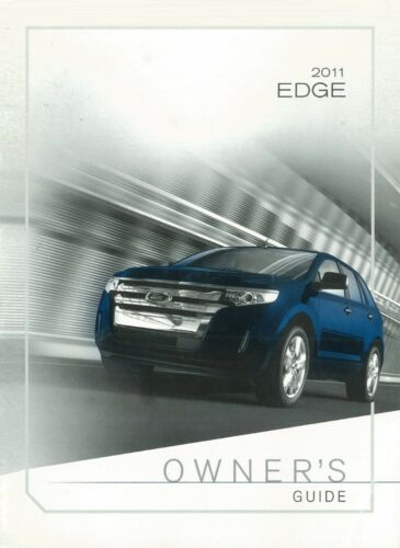 2011 Ford Edge Owners Manual User Guide Reference Operator Book Fuses
