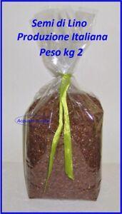 Semi Di Lino Kg 2 0 Per Fare Cuscini Da Scaldare In Forno E Microonde Ebay