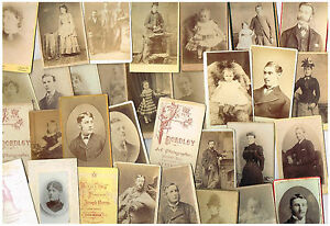 Image Is Loading ANTIQUE FAMILY PHOTOS BULK LOT OF 100 CDV
