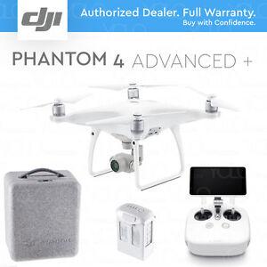 DJI-PHANTOM-4-ADVANCED-PLUS-DRONE-Gimbal-Camera-1-034-CMOS-4K-60fps-5-5-034-Display