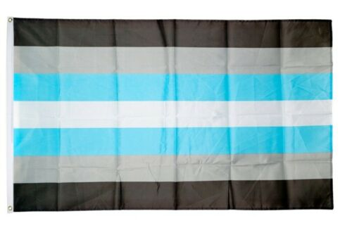 Fahne Demimann Demi-Boy Flagge Demigender Hissflagge 90x150cm