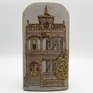San-Francisco-Painted-Lady-Victorian-Wall-Pocket-MidCentury-1960s-Counterpoint