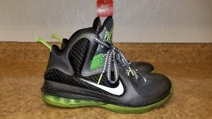 check out 43157 643cc Image is loading Nike-Lebron-9-IX-Dunkman-Dark-Gray-Volt-