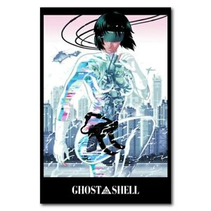 H-2271 Ghost In The Shell Scarlett Johansson Classic Anime Wall Silk Poster