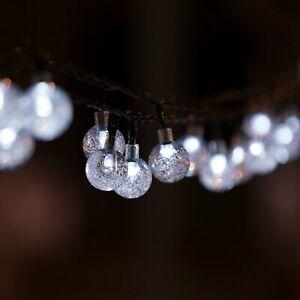 40-LED-solaire-Guirlande-lumineuse-boules-Longueur-7-85M-Decoration-exterieur
