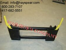 Quick Attach Adapter Case Ih 1845c Loader To Skid Steer