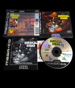 SURGICAL-STRIKE-Sega-MEGA-CD-Genesis-PAL-Megacd-MCD-Complete