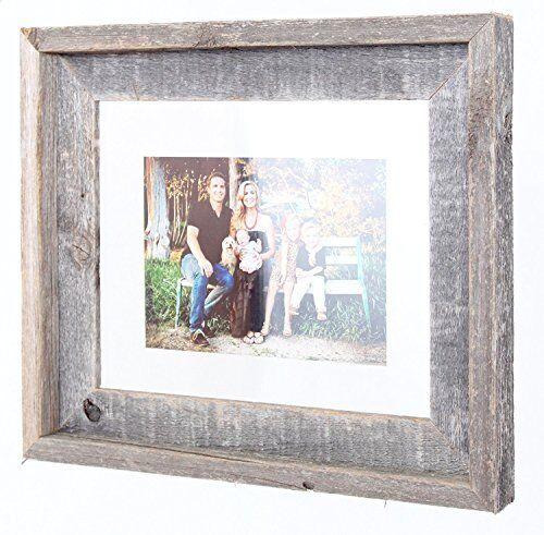 BarnwoodUSA Signature Reclaimed Wood Float Frame
