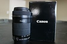 Canon EF-S 55-250mm f/4.0-5.6 STM IS Lens
