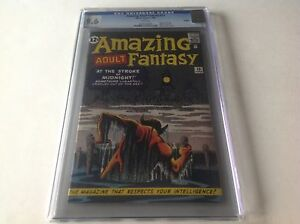 AMAZING-ADULT-FANTASY-13-CGC-9-6-WHITE-PAGES-JC-PENNEY-REPRINT-MARVEL-COMICS
