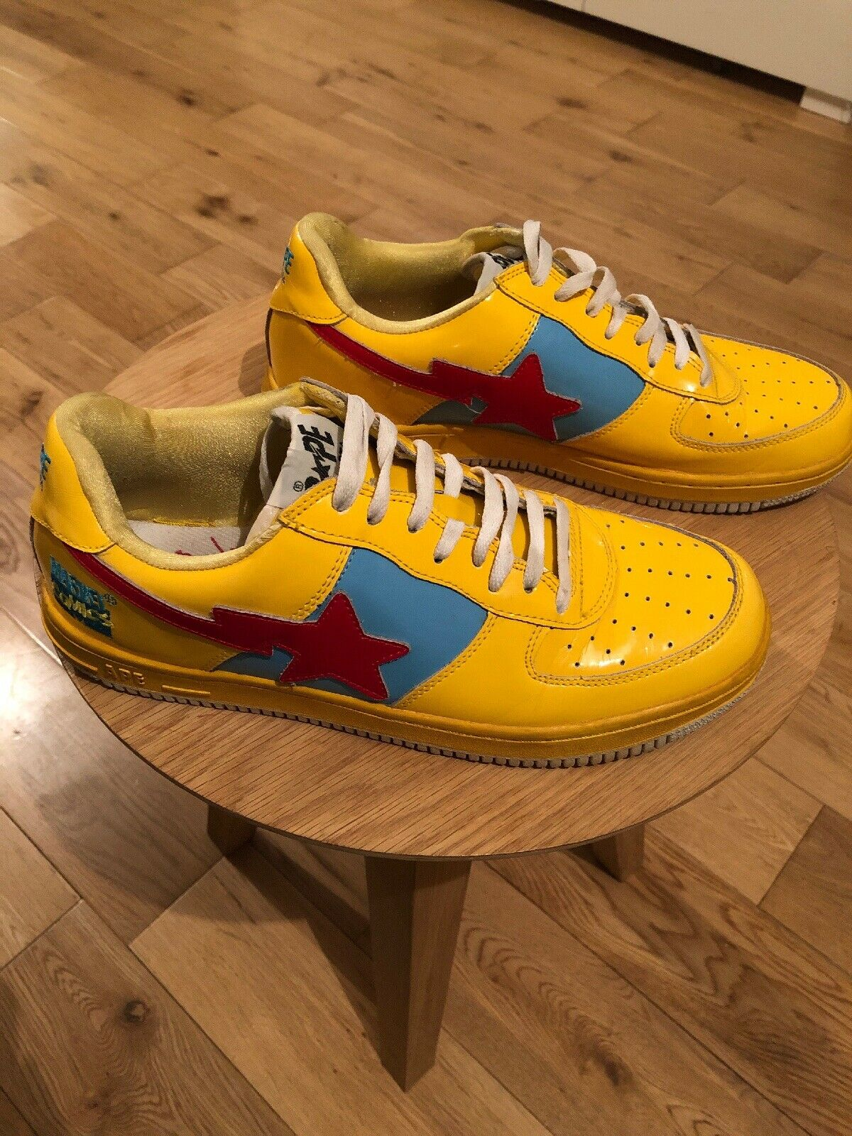 A Bathing Ape BAPE Marvel Thor Trainers Sneakers Collectors