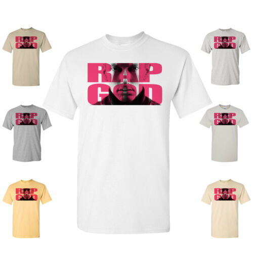 Eminem Marshall Mathers MMLP2 Slim Shady Hip Hop Multi Colors Rap God T Shirt