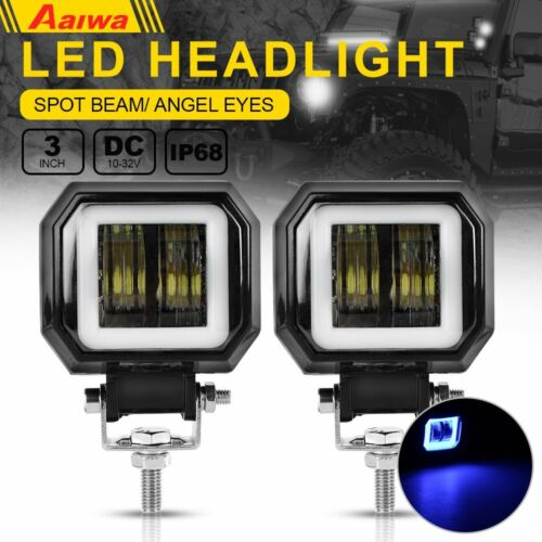 3//4//5//6//7//12 inch LED Work Light Bar Flood Spot Beam Offroad 4WD SUV Fog Light