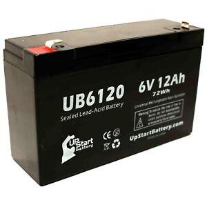 Power Sonic PS-6100 6V 12AH UPS Battery for Tripp Lite BC205-10 Pack