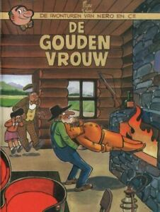 Nero-Middelkerke-13-De-gouden-vrouw-Special-edition-mini-formaat