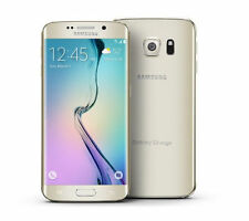 GALAXY s6 EDGE - 32GB - GOLD - BOOST MOBILE 4G LTE NETWORK - GOOD CONDITION