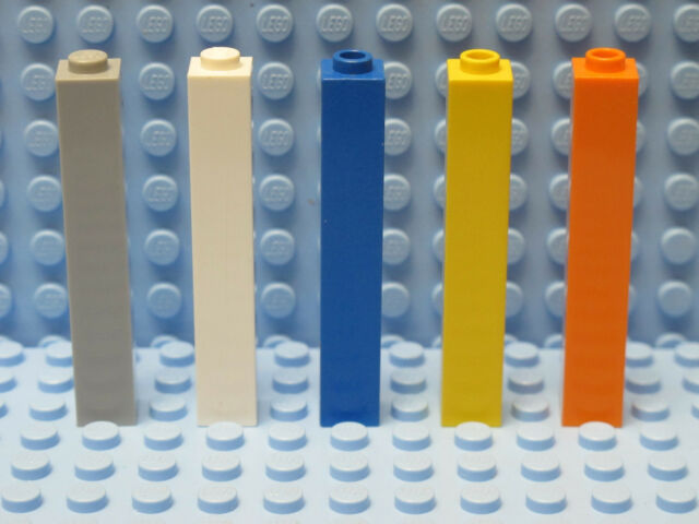 Lego 2453 COLUMN SUPPORT PILLAR 1x1x5 Many Colors 2 Piece Large Selection 67