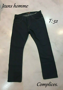 Pantalon jeans bleu hommes collection Complice T: 52