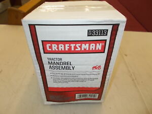 Craftsman-Tractor-Mandrel-Assembly-71-33113-NEW-IN-BOX-With-Shelf-Ware