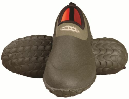 MUCK BOOTS EDGEWATER CAMP SHOE MOSS UNISEX SLIP ON WARM DRY NEW AUTHENTIC